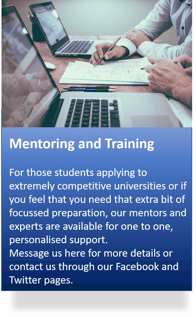 mentoring and training - Extra Services