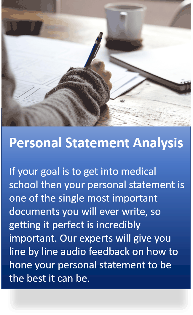 personal statement analysis 1 - Extra Services